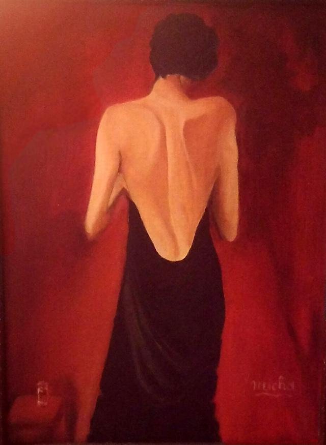 Le Dos De Femme Peinture De Micha Chanson Et Mp3