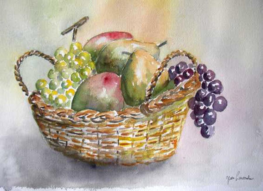La corbeille de fruits mûrs